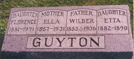 GUYTON, WILBER - Clarke County, Iowa | WILBER GUYTON