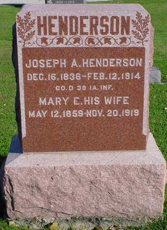 HENDERSON, JOSEPH A. - Clarke County, Iowa | JOSEPH A. HENDERSON