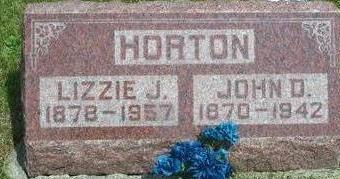 HORTON, LIZZIE J. - Clarke County, Iowa | LIZZIE J. HORTON