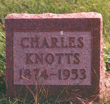 KNOTTS, CHARLES - Clarke County, Iowa | CHARLES KNOTTS