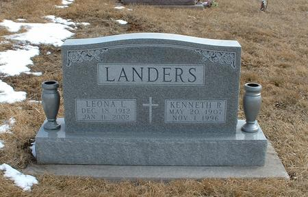 LANDERS, KENNETH - Clarke County, Iowa | KENNETH LANDERS