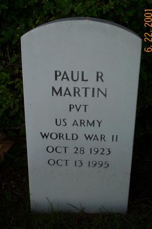 MARTIN, PAUL - Clarke County, Iowa   PAUL MARTIN