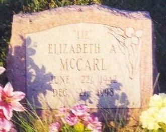 MCCARL, ELIZABETH ANN - Clarke County, Iowa | ELIZABETH ANN MCCARL