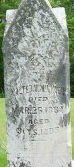 MILINER, WALTER V. - Clarke County, Iowa | WALTER V. MILINER