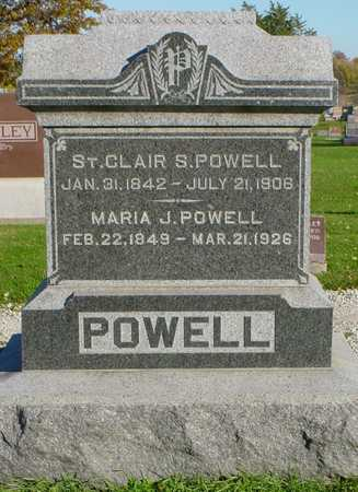 POWELL, ST. CLAIR S. - Clarke County, Iowa | ST. CLAIR S. POWELL