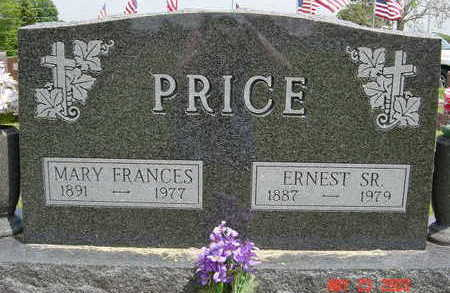 PRICE, MARY FRANCES - Clarke County, Iowa | MARY FRANCES PRICE