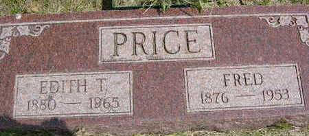 PRICE, FRED - Clarke County, Iowa | FRED PRICE