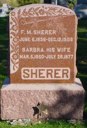 SHERER, BARBRA - Clarke County, Iowa | BARBRA SHERER