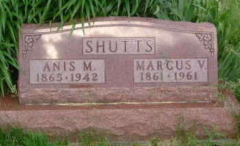 SHUTTS, ANIS M. - Clarke County, Iowa | ANIS M. SHUTTS