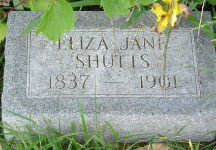 SHUTTS, ELIZA JANE - Clarke County, Iowa | ELIZA JANE SHUTTS