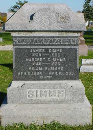 SIMMS, JAMES - Clarke County, Iowa | JAMES SIMMS