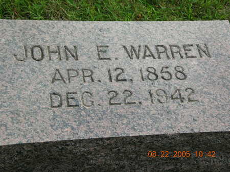WARREN, JOHN - Clarke County, Iowa | JOHN WARREN