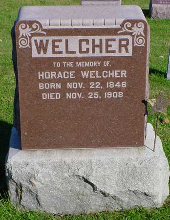 WELCHER, HORACE - Clarke County, Iowa | HORACE WELCHER