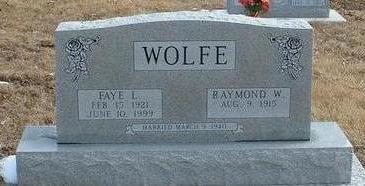 LANDERS WOLFE, FAYE - Clarke County, Iowa | FAYE LANDERS WOLFE