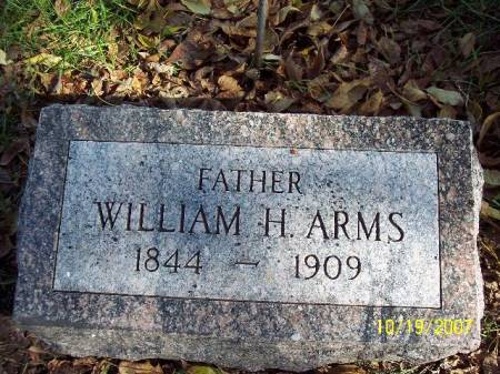 ARMS, WILLIAM HENRY - Clay County, Iowa | WILLIAM HENRY ARMS
