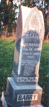BARRY, JOHN CARLOS - Clay County, Iowa | JOHN CARLOS BARRY