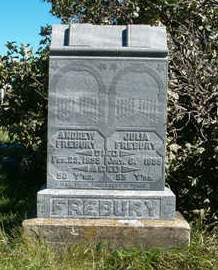 FREBURY, JULIA - Clay County, Iowa | JULIA FREBURY