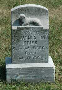 FRIES, LAVINIA - Clay County, Iowa | LAVINIA FRIES