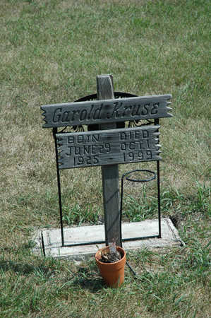 KRUSE, GAROLD - Clay County, Iowa | GAROLD KRUSE