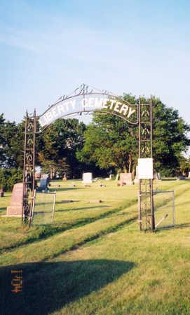 LIBERTY, CEMETERY - Clay County, Iowa   CEMETERY LIBERTY