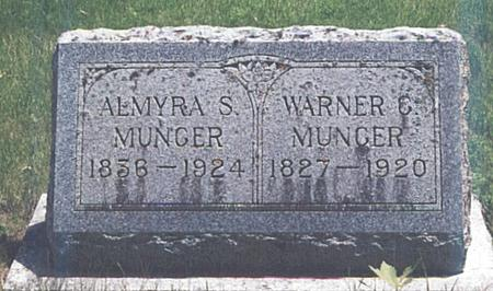 BARRY MUNGER, ALMYRA S. - Clay County, Iowa | ALMYRA S. BARRY MUNGER