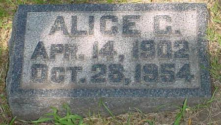 SCHMID, ALICE CATHERINE - Clay County, Iowa | ALICE CATHERINE SCHMID