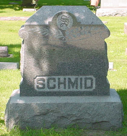 SCHMID, FAMILY MONUMENT - Clay County, Iowa | FAMILY MONUMENT SCHMID