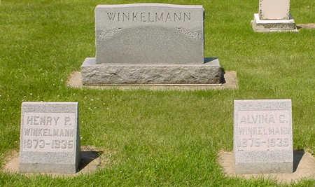 SCHWENNEKER WINKELMANN, ALVINA CHRISTINE - Clay County, Iowa | ALVINA CHRISTINE SCHWENNEKER WINKELMANN