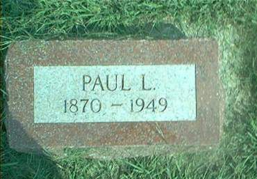BROWN, PAUL L. - Clay County, Iowa   PAUL L. BROWN