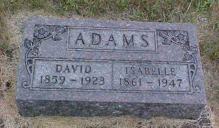 ADAMS, DAVID - Clayton County, Iowa | DAVID ADAMS