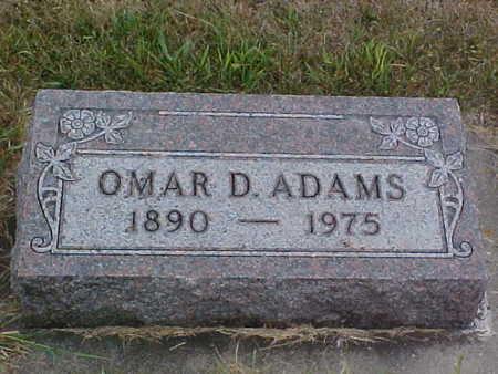 ADAMS, OMAR D. - Clayton County, Iowa | OMAR D. ADAMS