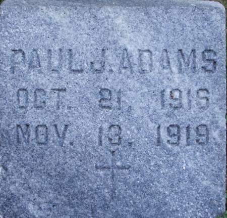 ADAMS, PAUL J. - Clayton County, Iowa | PAUL J. ADAMS