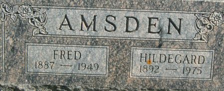 AMSDEN, FRED - Clayton County, Iowa | FRED AMSDEN