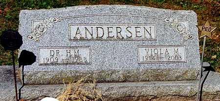 ANDERSEN, VIOLA - Clayton County, Iowa | VIOLA ANDERSEN