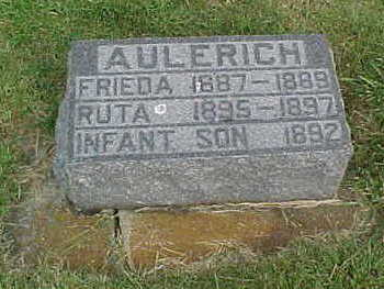 AULERICH, INFANT SON - Clayton County, Iowa | INFANT SON AULERICH
