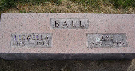 BALL, LLEWELLA - Clayton County, Iowa | LLEWELLA BALL