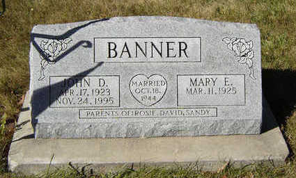 BANNER, MARY E. - Clayton County, Iowa | MARY E. BANNER