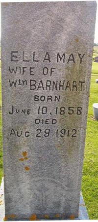 BARNHART, ELLA MAY - Clayton County, Iowa | ELLA MAY BARNHART