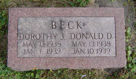 BECK, DONALD D. - Clayton County, Iowa | DONALD D. BECK