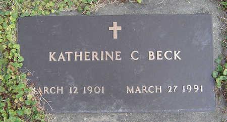 BECK, KATHERINE C. - Clayton County, Iowa | KATHERINE C. BECK