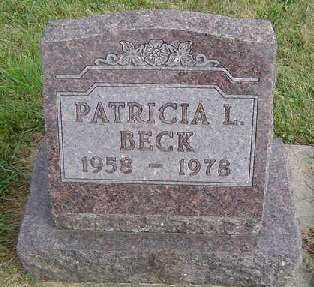 BECK, PATRICIA L. - Clayton County, Iowa | PATRICIA L. BECK