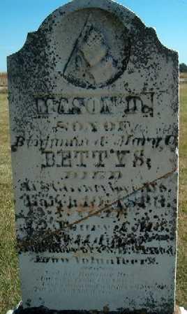 BETTYS, MASON D. - Clayton County, Iowa | MASON D. BETTYS