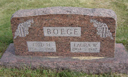 BOEGE, FRED H. - Clayton County, Iowa | FRED H. BOEGE