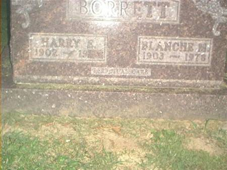 BORRETT, HARRY E. & BLANCHE M. - Clayton County, Iowa | HARRY E. & BLANCHE M. BORRETT