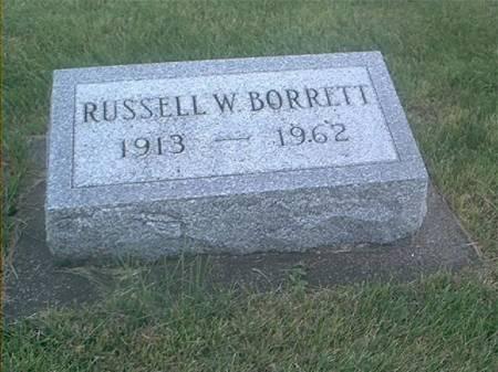 BORRETT, RUSSELL W - Clayton County, Iowa | RUSSELL W BORRETT
