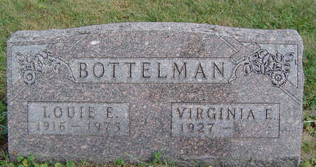 BOTTLEMAN, VIRGINIA E. - Clayton County, Iowa | VIRGINIA E. BOTTLEMAN