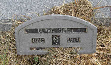 BOWER, CLARA - Clayton County, Iowa | CLARA BOWER