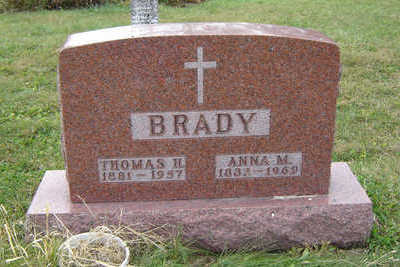 BRADY, THOMAS H. - Clayton County, Iowa | THOMAS H. BRADY