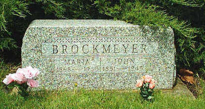 BROCKMEYER, MARIA - Clayton County, Iowa | MARIA BROCKMEYER