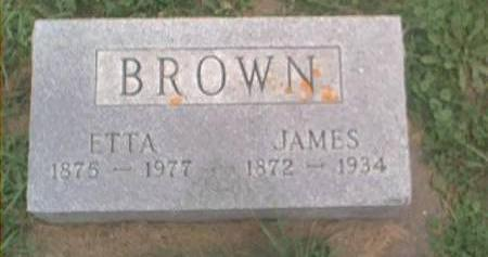 BROWN, JAMES & ETTA - Clayton County, Iowa | JAMES & ETTA BROWN